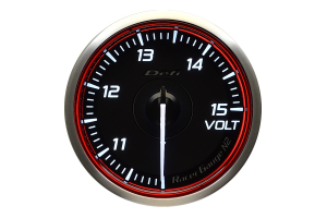 Defi DF Racer Volt Gauge 60mm - Universal