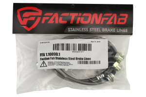 FactionFab Front Stainless Steel Brake Lines - Subaru Impreza 1993-2001