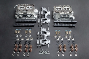 IAG Stage 5 Cylinder Head Package w/ Combustion Chamber Mod Includes GSC S3 Cams  - Subaru WRX 2002-2005