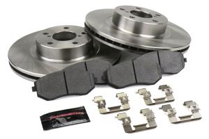 Power Stop Track Day Spec Kit Front - Subaru Models (inc. 2002-2010 Impreza)
