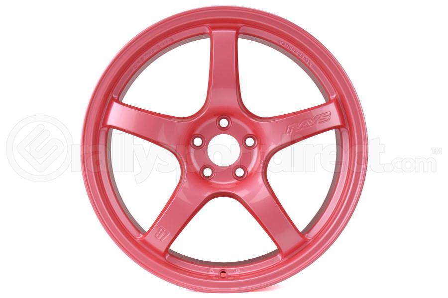 Gram Lights 57CR 18X9.5 +38 5x114.3 Sakura Pink - Universal