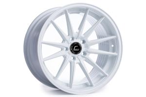 Cosmis Racing Wheels R1 18x9.5 +35 5x114.3 White - Universal