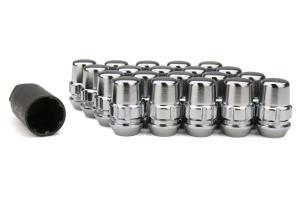 Gorilla Acorn Locking Silver 12x1.25 - Universal