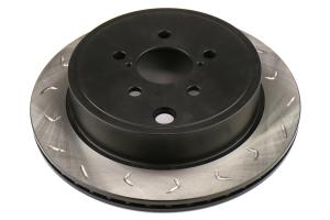 FactionFab Swept Slot Bi-Directional Rotor Rear - Scion FR-S 2013-2016 / Subaru BRZ 2013+ / Toyota 86 2017+