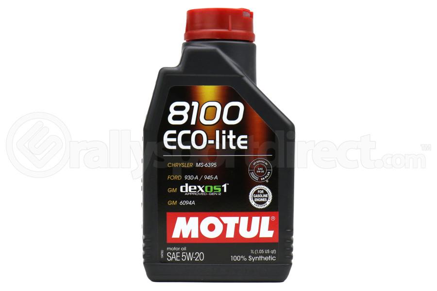 Motul 8100 Eco-Lite 5W20 Synthetic Oil 1 Quart - Universal