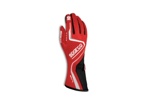 Sparco Lap Racing Gloves Red / Black - Universal