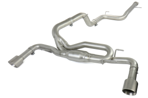 cp-e MazdaSpeed3 Dual 3in Cat-Back Exhaust System ( Part Number:CPE MZTE00001T)