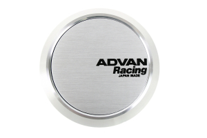 Advan Centercap 63 Flat Type Silver ( Part Number: Z9158)