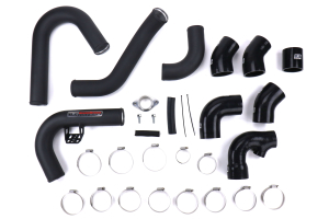 GrimmSpeed Front Mount Intercooler Pipe Kit Black - Subaru WRX 2015-2021