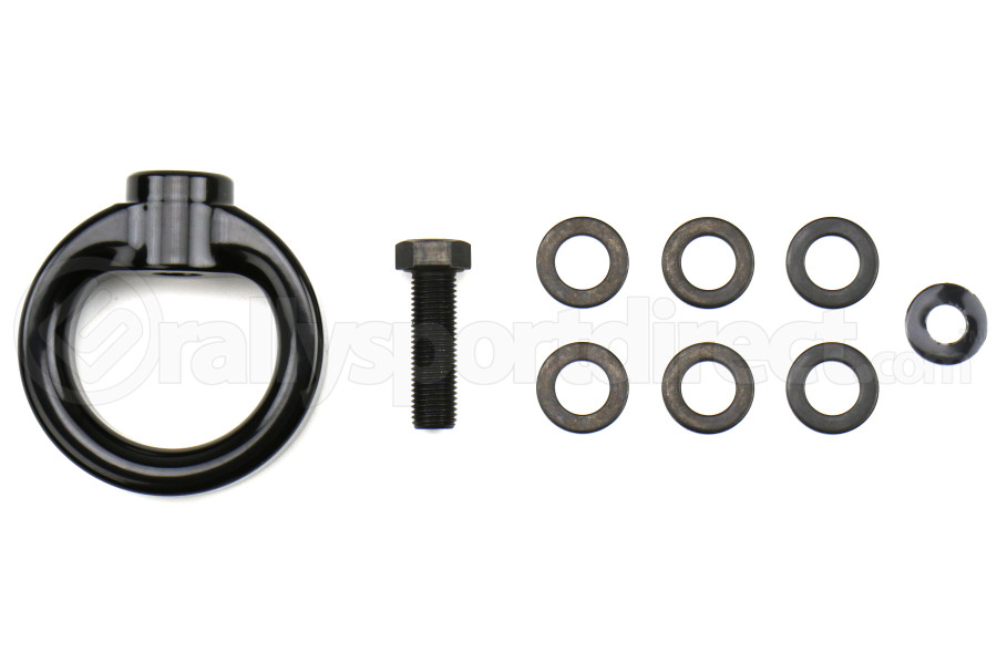 PERRIN Tow Hook Upgrade Kit Glossy Black - Universal