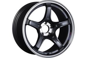 SSR GTX03 18x8 +45 5x112 Black Graphite - Universal