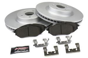 Power Stop Z17 Coated Brake Kit Front - Subaru Models (inc. 2005-2009 Legacy GT)
