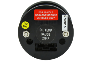 ProSport Evo Oil Temperature Gauge ( Part Number:PRS 216EVOOT.F)