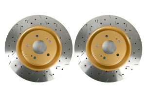 DBA 4000 Series Drilled/Slotted Rotor Pair Front ( Part Number: 42224XSG)