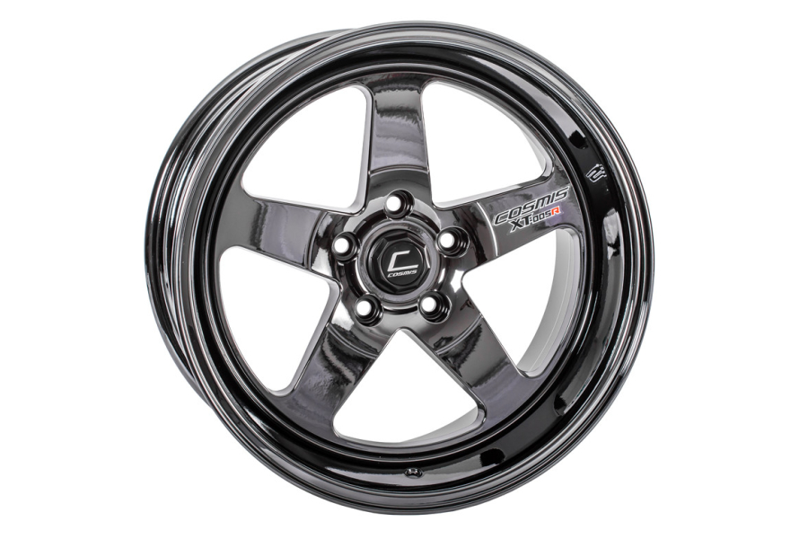 Cosmis Racing Wheels XT-005R 18x9 +25 5x120 Black Chrome - Universal