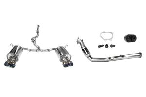 Turbo-Back Exhaust Titanium Tip System (Part Number: )