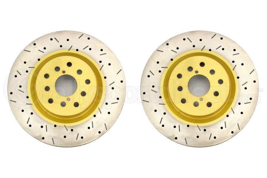 DBA 4000 Series Drilled/Slotted Front Rotor Pair (Part Number:42650XS-10G)