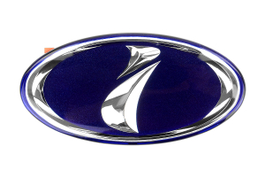 STI JDM i (Impreza) Badge Blue (Part Number: )