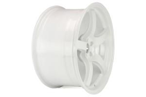 Gram Lights 57CR 18x9.5 +38 5x114.3 Ceramic Pearl - Universal