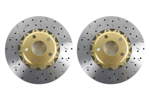 DBA 5000 Series Drilled/Slotted Rotor Pair Front ( Part Number: 5010GLDXSG)