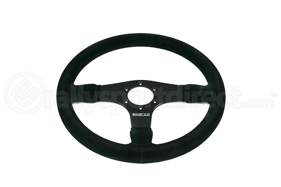 Sparco Steering Wheel 375 Black Suede - Universal