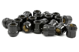 Muteki Lug Nuts 12x1.25 Open Ended Black (Part Number: )
