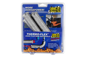 Thermo Tec Thermo-Flex Plug Wire Heat Shields 4 Piece ( Part Number:THE 14350)