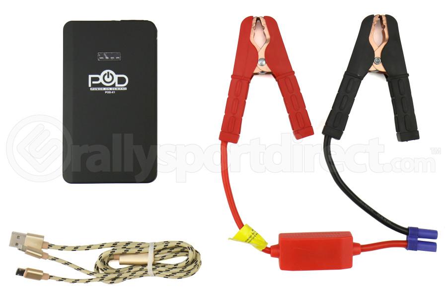 POD X1 Jump Starter Kit Black - Universal