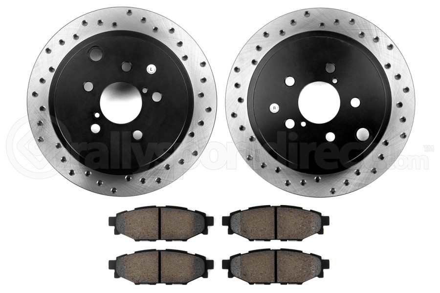 Stoptech Street Axle Pack Drilled Rear ( Part Number:STP 939.47503)