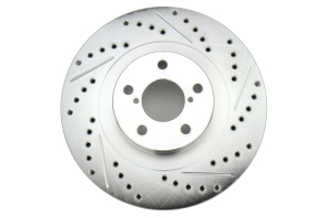 Stoptech C-Tek Sport Drilled and Slotted Rotor Single Front Left (Part Number: )