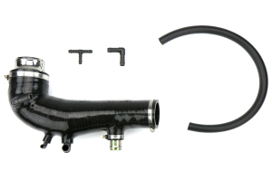 COBB Tuning Silicone Turbo Inlet Black ( Part Number: 712400-BK)
