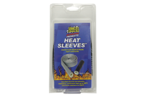 Thermo Tec Heat-Sleeves 1/2in x 3ft Black (Part Number: )
