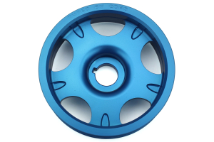 COBB Lightweight Crank Pulley Blue ( Part Number: 300102B)