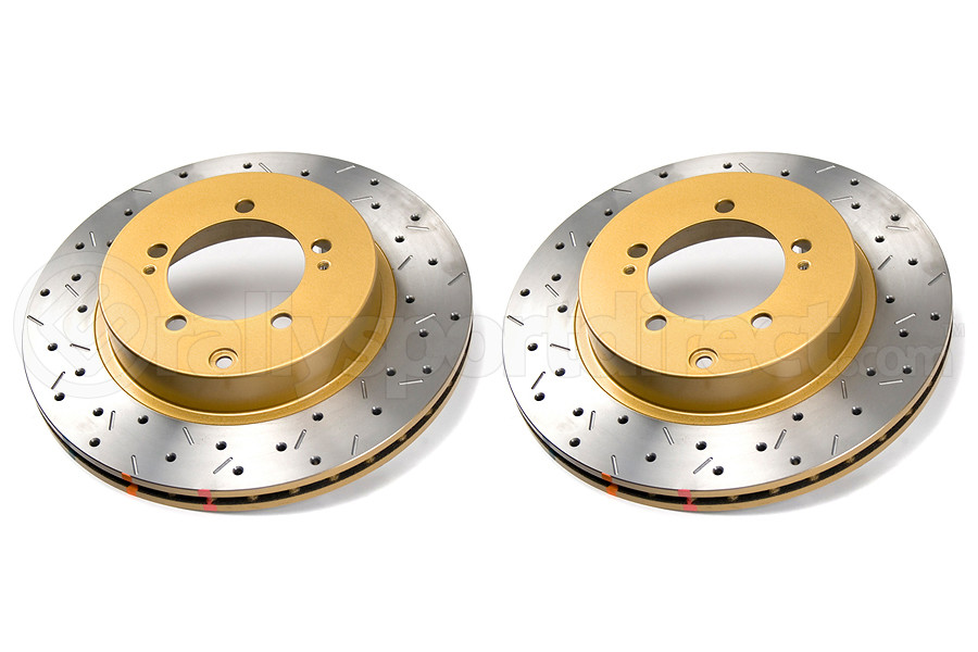 DBA 4000 Series Drilled/Slotted Rotor Pair Rear (Part Number:4419XSG)