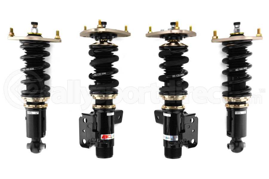 BC Racing BR Coilovers ( Part Number:BCR F-20-BR)