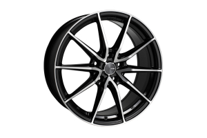 Enkei Draco 5x100 Black Machined - Universal