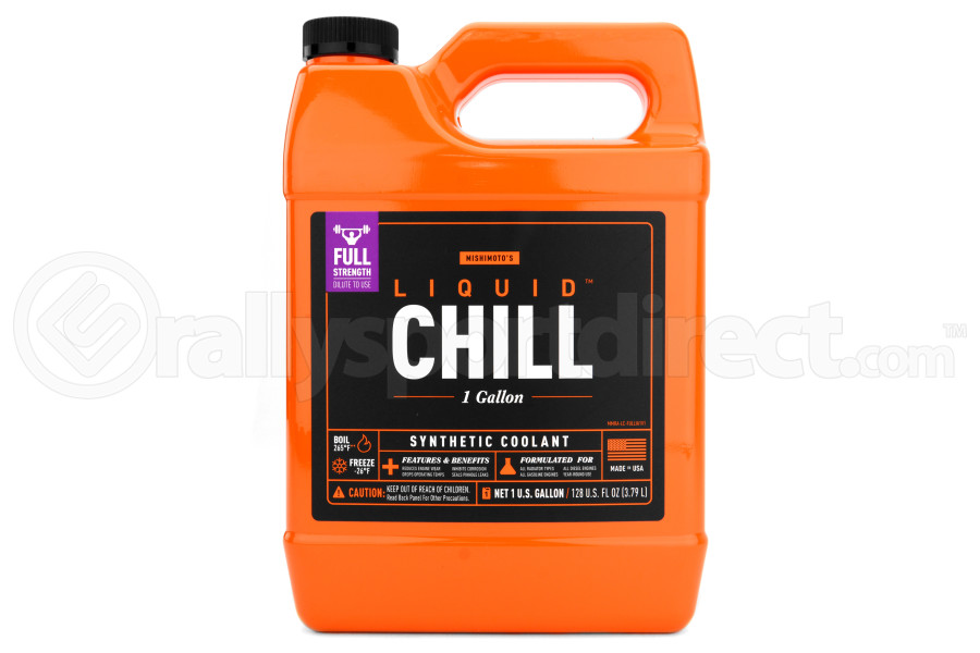 Mishimoto Liquid Chill Synthetic Engine Coolant Full Strength (Part Number:MMRA-LC-FULLF)