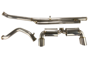 ETS Catback Exhaust System Mufflered Non Resonated - Ford Focus RS 2016 - 2020