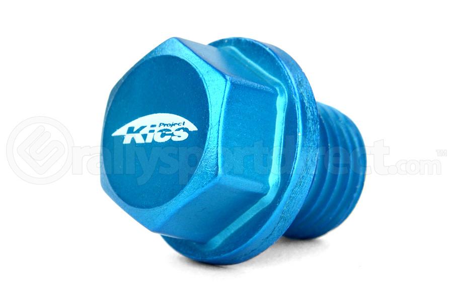 KICS Magnetic Oil Drain Plug Bolt M14X1.50 Blue (Part Number:WMAG2)