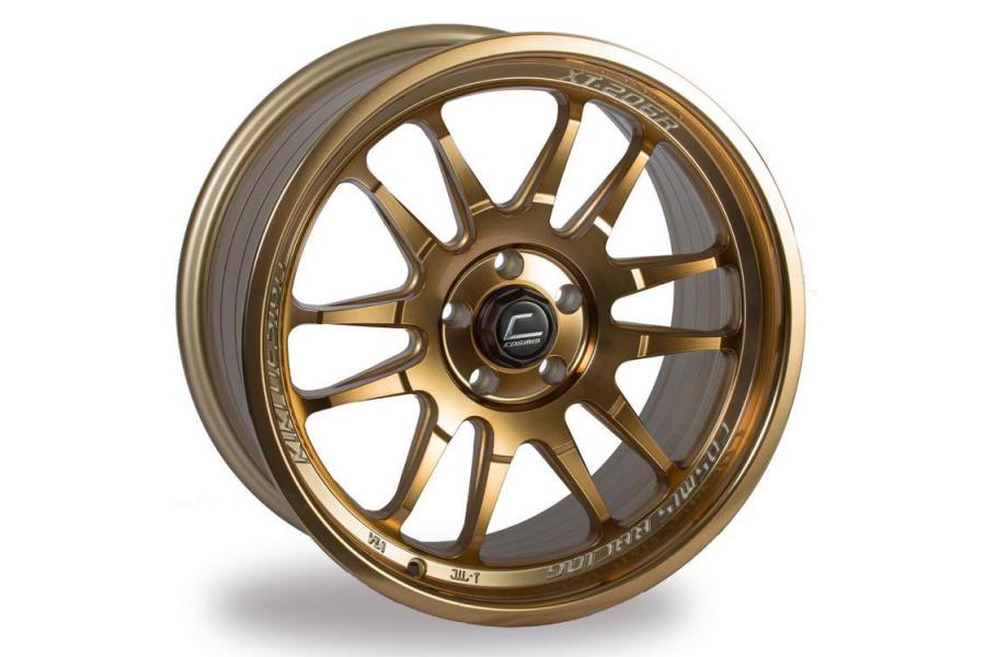 Cosmis Racing Wheels XT-206R 18x9.5 +10 5x114.3 Hyper Bronze - Universal