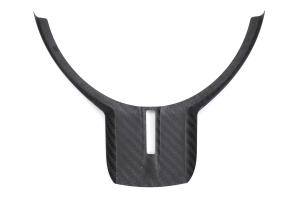 OLM Dry Carbon Fiber Steering Wheel Trim Cover - Scion FR-S 2013-2016 / Subaru BRZ 2013 - 2016