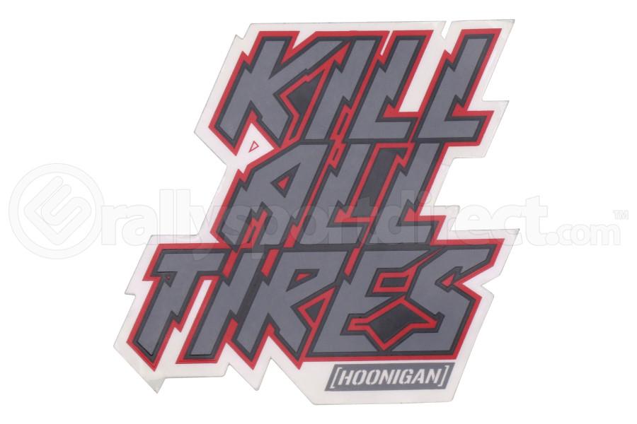 HOONIGAN Kill All Tires Sticker - Universal