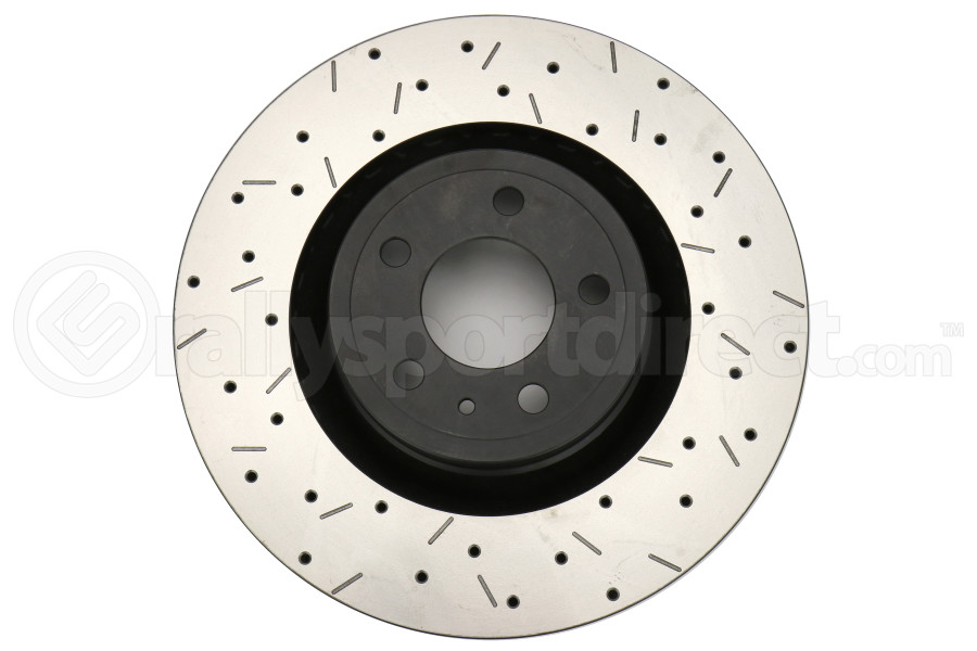 DBA 4000 Series Drilled and Slotted Rotor Front ( Part Number:DBA 42164BLKXS)