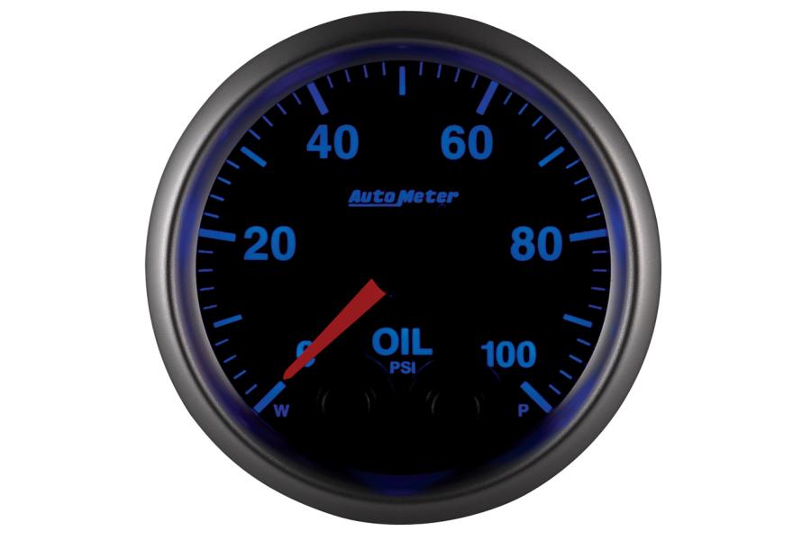 Autometer Elite Oil Pressure Gauge 7 Color 52mm - Universal