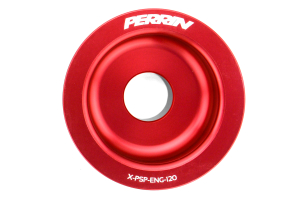PERRIN Lightweight Accessory Pulley Kit Red ( Part Number:PER1 PSP-ENG-120RD)