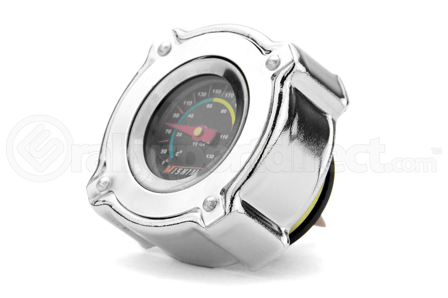 Mishimoto 1.3 Bar Radiator Cap w/ Temperature Gauge - Universal