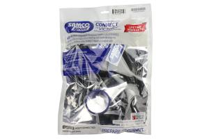 Samco Silicone Intercooler Hoses Black - Subaru STi 2006-2007