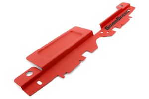 GrimmSpeed Radiator Shroud w/ Tool Tray Red (Part Number: )