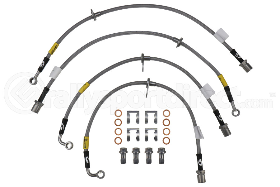 Goodridge SS Brake Line Kit - Subaru Forester XT 2014 - 2017