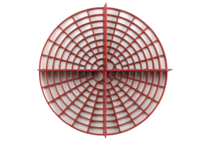 Chemical Guys Grit Guard Insert Red - Universal